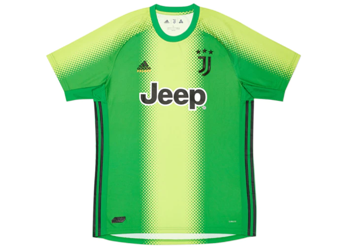 Palace Adidas Palace Juventus Fourth Goalkeeper Jersey Slime Green Jersey Soccer Jersey Football Kits