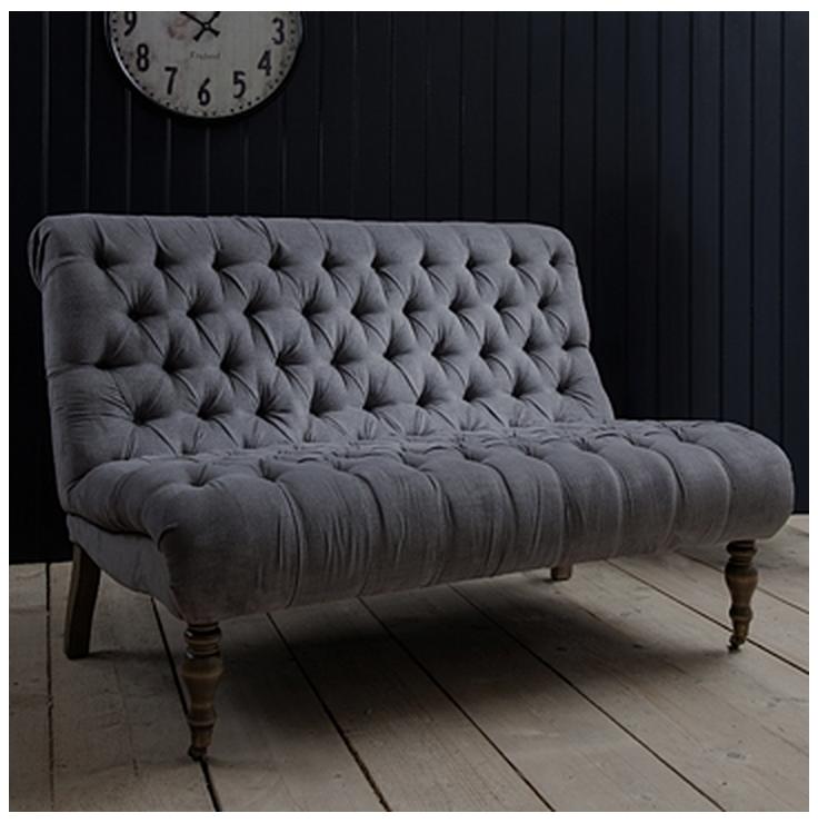 Small Buttonback Sofa