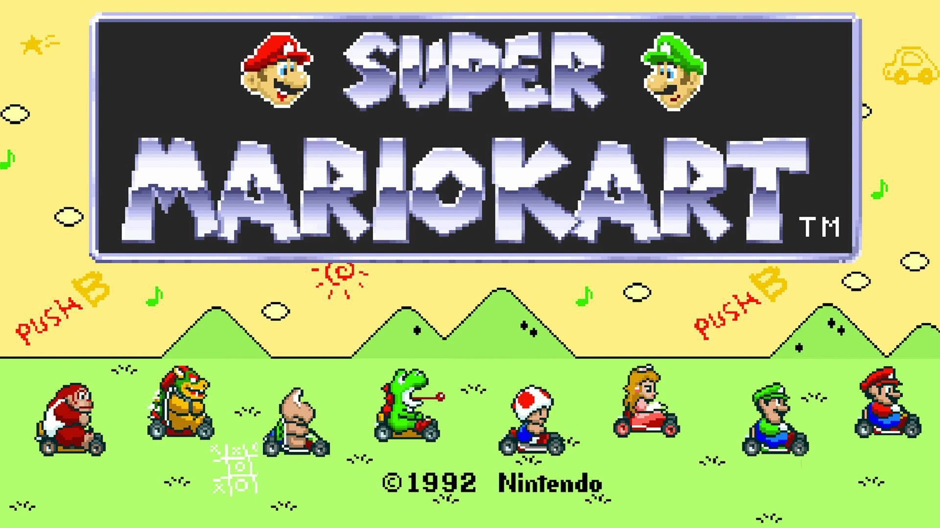 Análisis Super Mario Kart, la llave que abrió el candado de la excelencia   Mario kart, Super mario, Smash bros