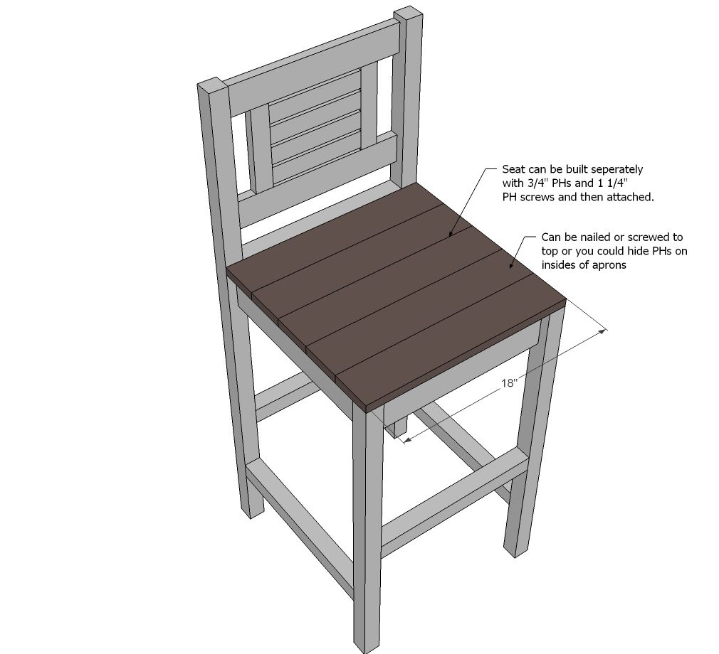Ana White | Build a Vintage Bar Stool | Free and Easy DIY Project and Furniture  sc 1 st  Pinterest & Counter height bar stools | Do It Yourself Home Projects from Ana ... islam-shia.org