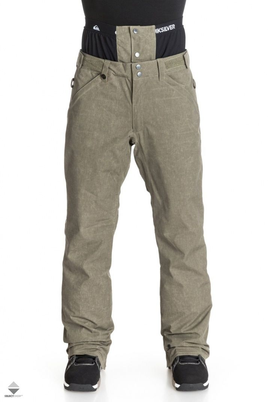 Spodnie Snowboardowe Quiksilver Resort Ins Snowboard Pants Olive Eqytp03010 Gpb0 Snowboard Pants Snowboarding Outfit Ski Pants