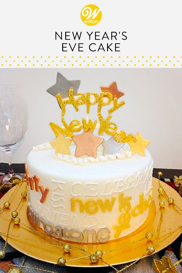 Decorating the house and holiday parties we don   always have enough energy to do creative cake that would like for  new year  also add little star power your eve wilton rh pinterest