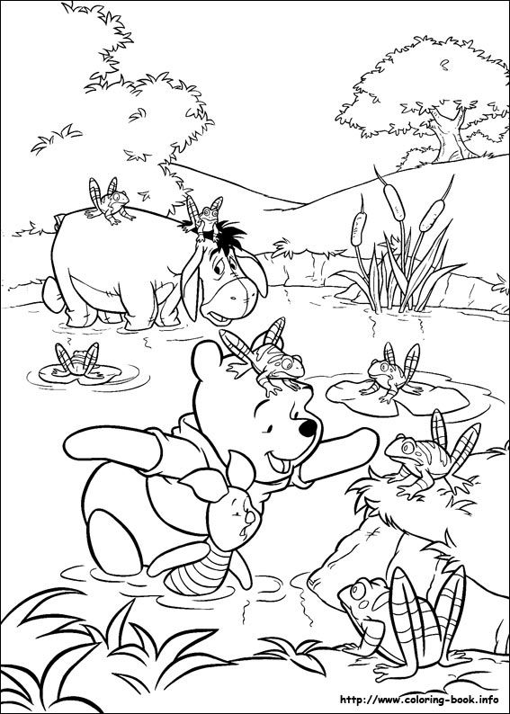 Winnie The Pooh Coloring Picture Disney Coloring Pages