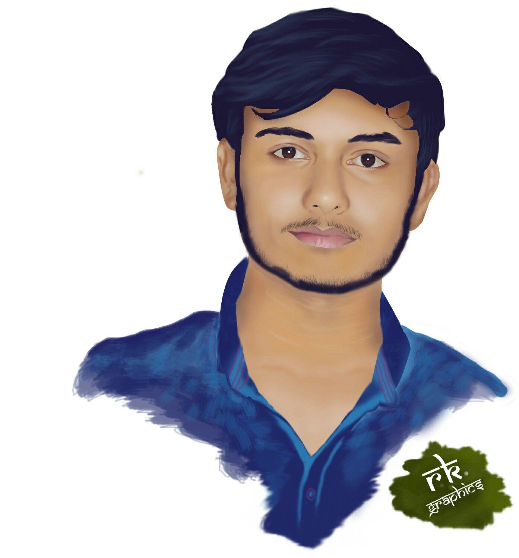 Portrait Digital painting Portrait, Digital painting