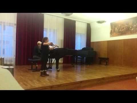 George Perlman:israeli concertino 1st movement - YouTube
