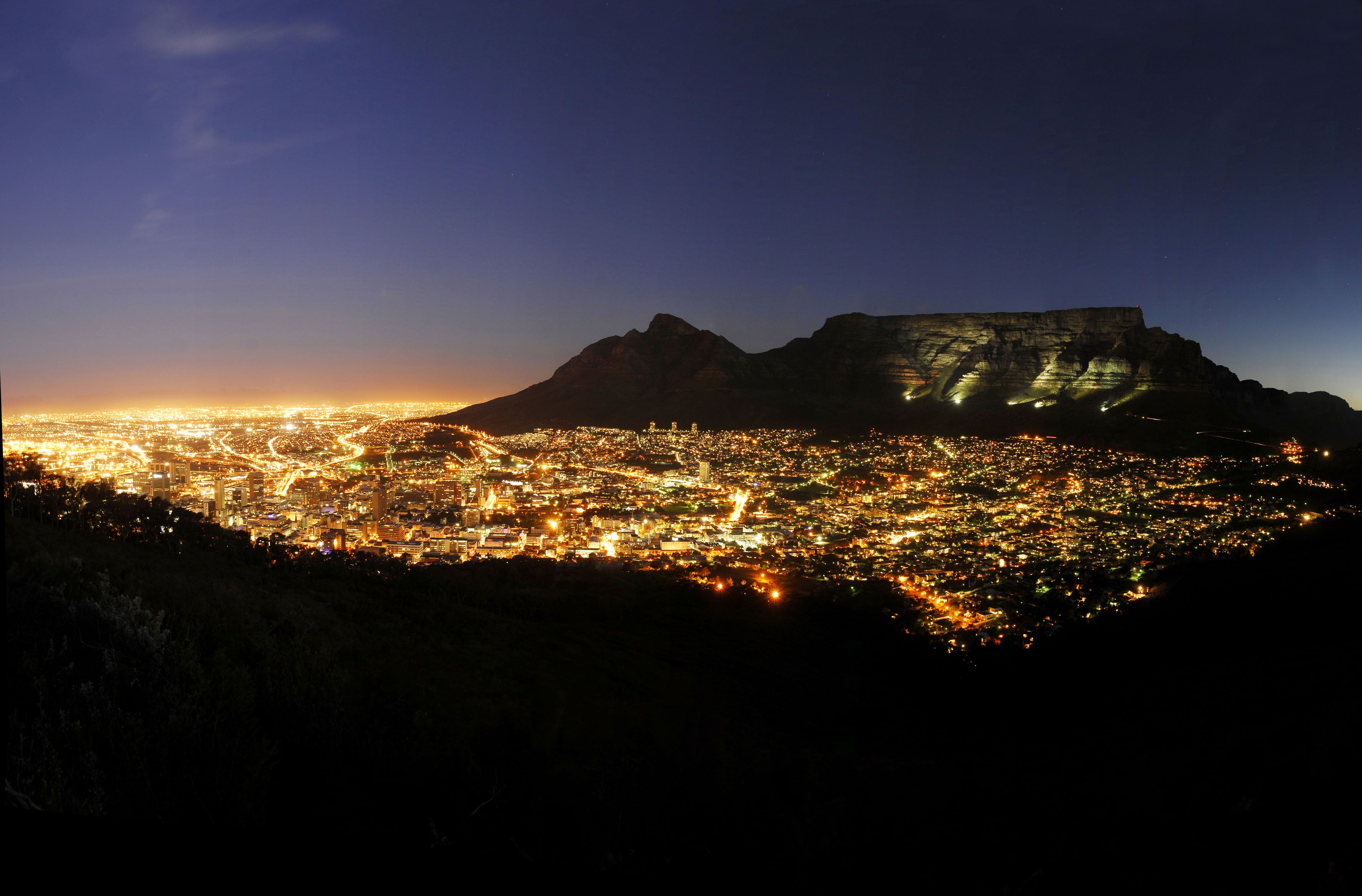 Image result for cape town south africa night