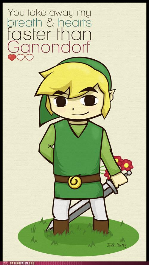 Some Good OldFashioned Link Lovin – Legend of Zelda Valentine Card