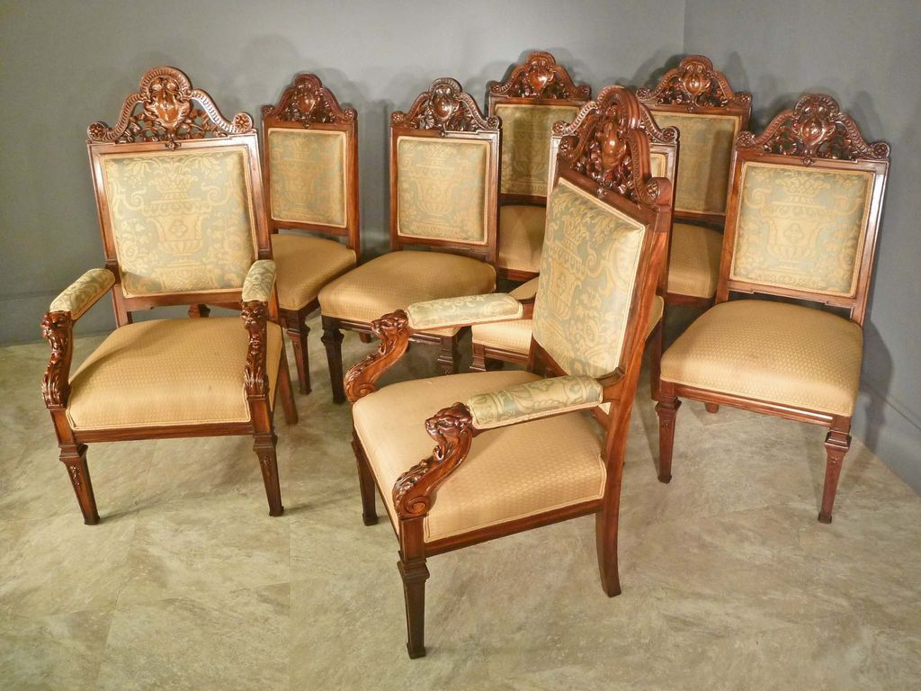 victorian style dining chairs