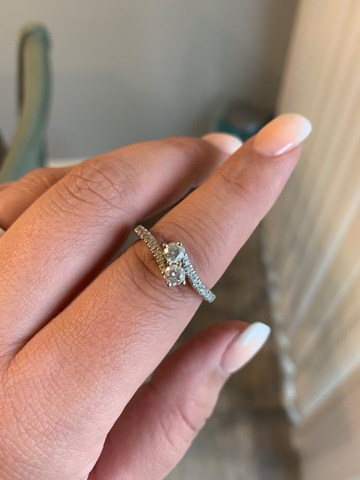 Ever Us 3 4 Ct Diamond Ring I Believe The Size Is A 10 In Excellent Condition Just Don T Wear It Like I Thought I W Kay Jewelers Rings Beautiful Rings Rings