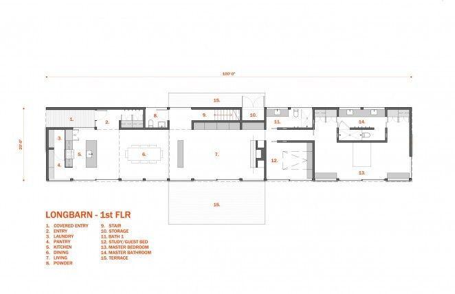 long barn house plans. LongBarn  A Modern Barn Designed for Living 30X40 Design Workshop