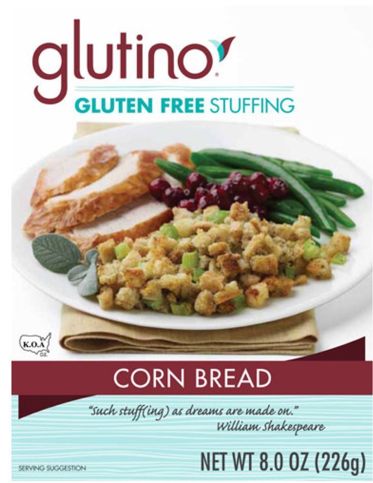 GlutenFree Stuffing Mixes for Thanksgiving Gluten free