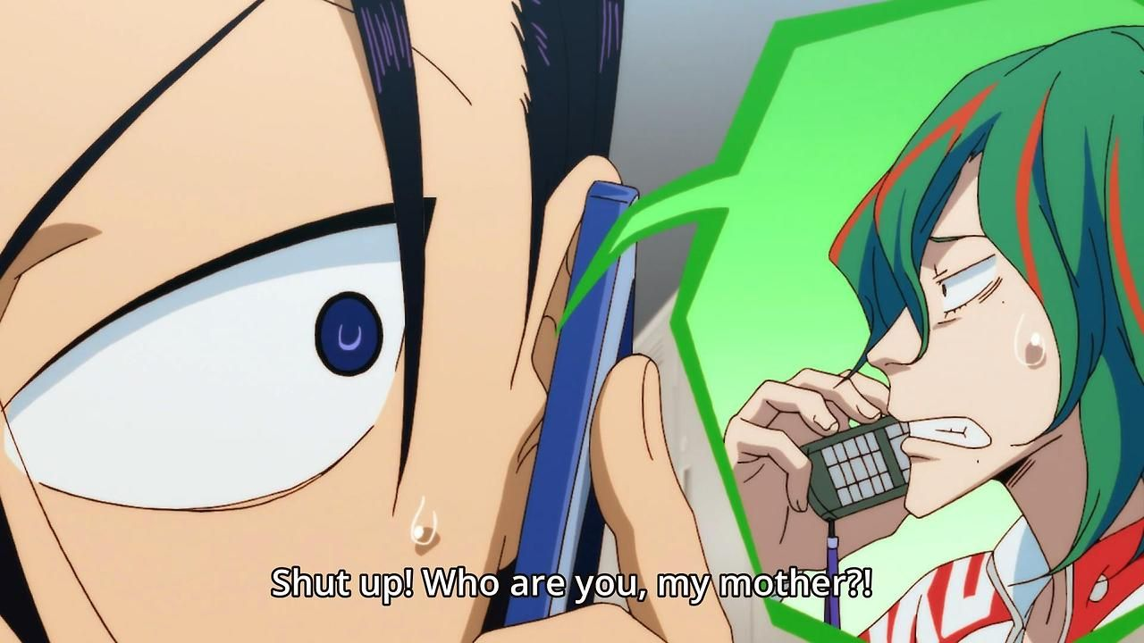 Maki-chan and Toudou---Gods, just kiss already! XD