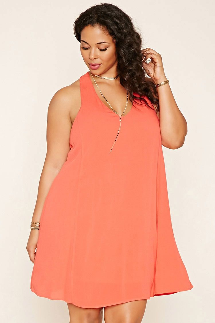 Plus Size Strappy-Back Dress