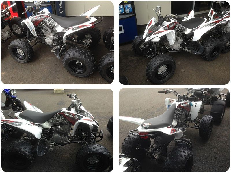 This yamaha raptor 250 four wheeler is well performance atv with this yamaha raptor 250 four wheeler is well performance atv with features like five speed manual transmission that gives the rider control over the power sciox Gallery