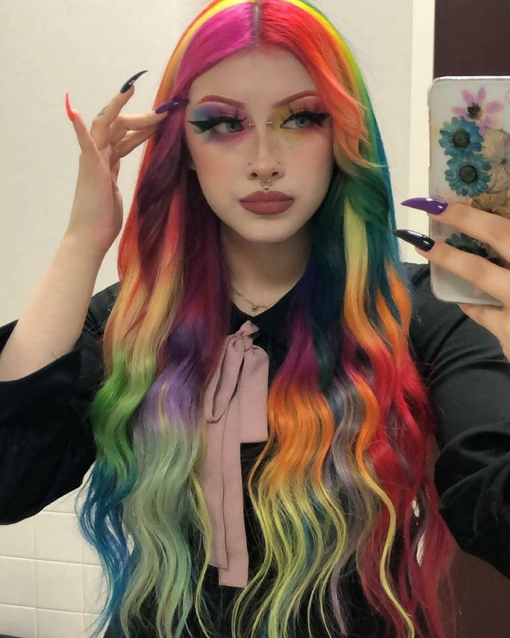 Alternative Fashion Alternativexfashion Posted On Instagram What Is Your Favorite Hair Make Up 1 2 3 In 2020 Scene Hair Colors Hair Inspo Color Aesthetic Hair