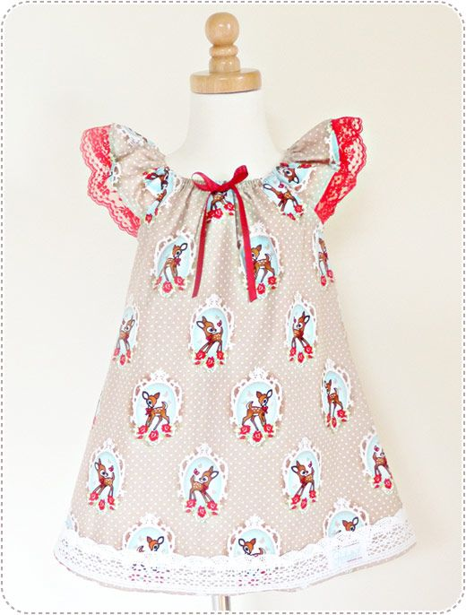 Robintail Handmade Girls Clothing, Dresses, Bambi | Shopping for ...