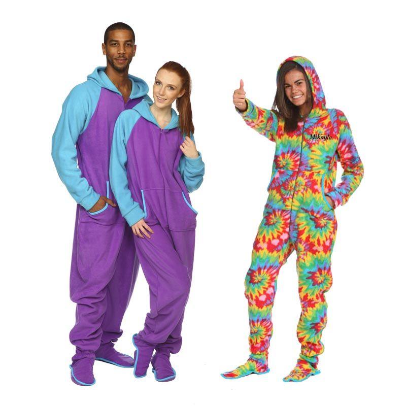 3166e66b8 Pijama Enterizo con Capucha y Bolsillos  invierno  pijamainvierno  antifrio   allinone