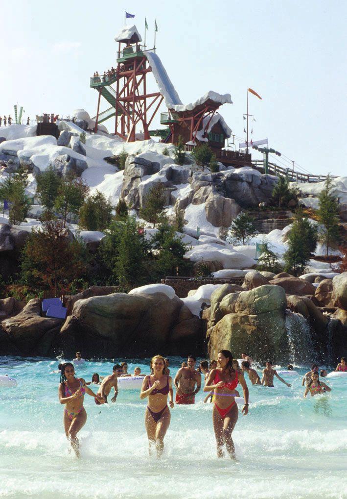 Walt Disney World Disney S Blizzard Beach Water Park Melt Away