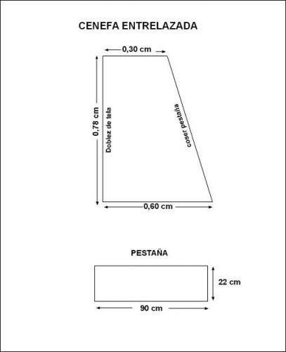 Patrones de cortinas y cenefas gratis - Imagui | CORTINAS Y ...