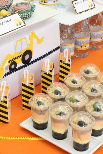 Construction Party Birthday Party Ideas