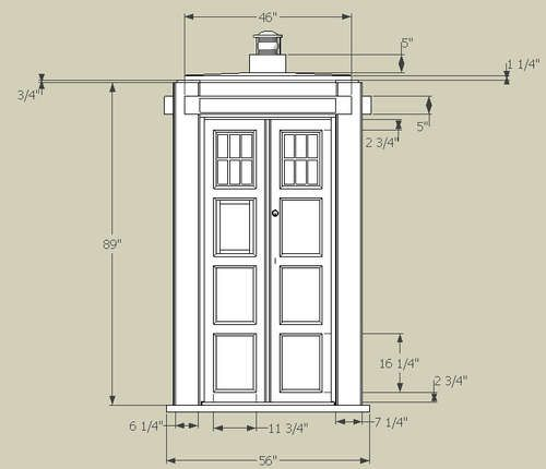Doctor who tardis model tardis blueprints now if i can just find the plans for the inside malvernweather Images
