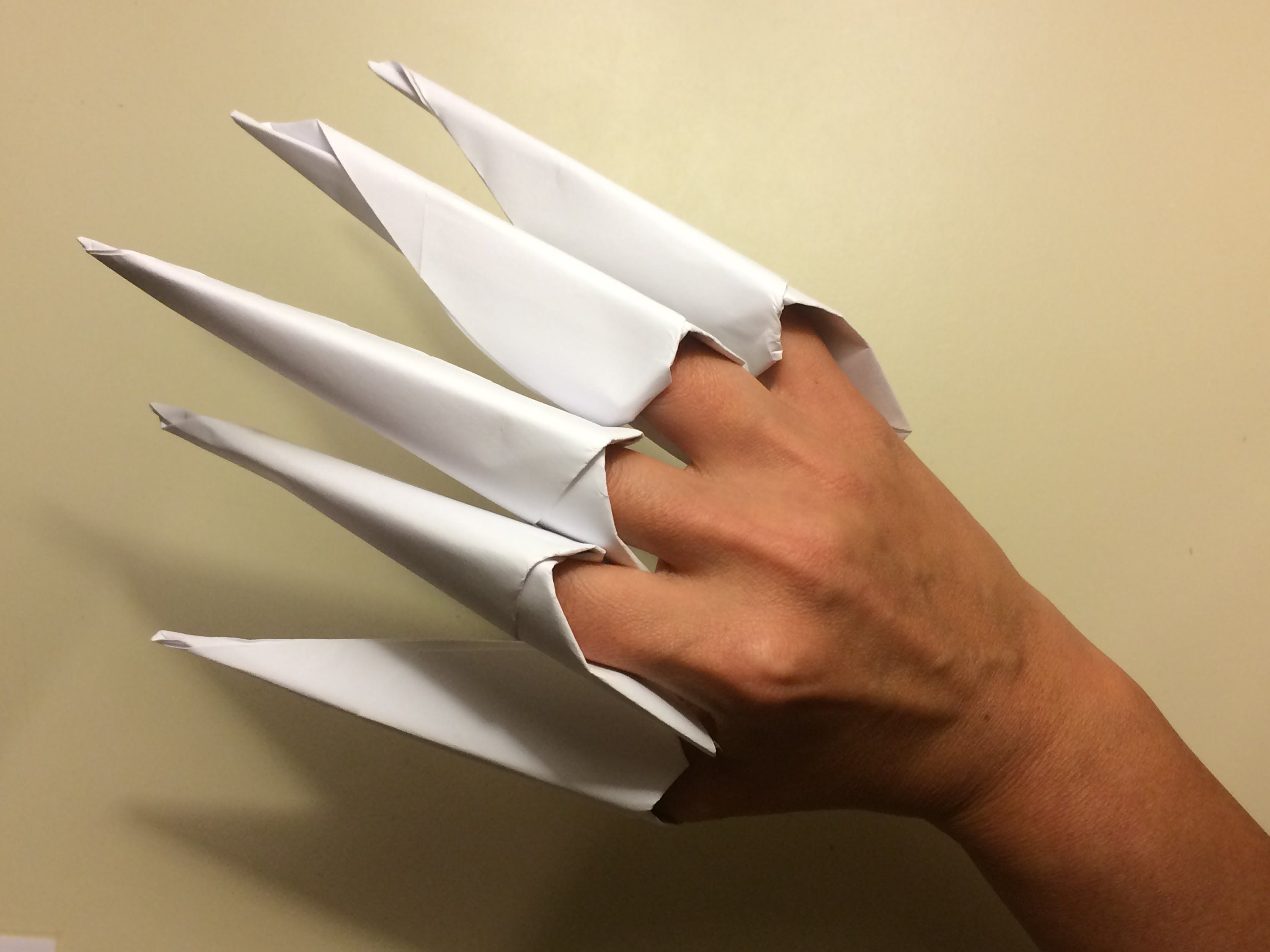 Easy Claws Origami Fun And Simple For Kids Step By Sword Diagram Instructions