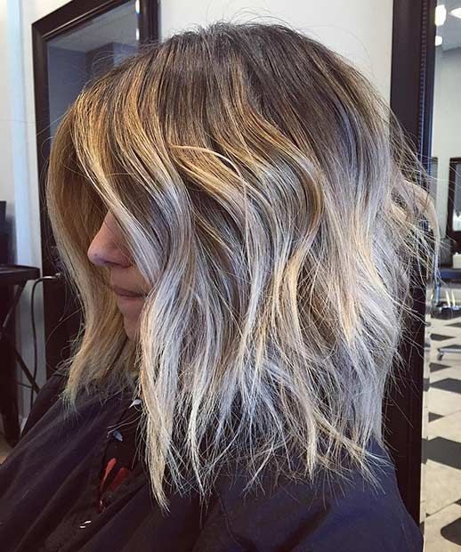 21 Cute Lob Haircuts For This Summer A Hairy Situation Pinterest