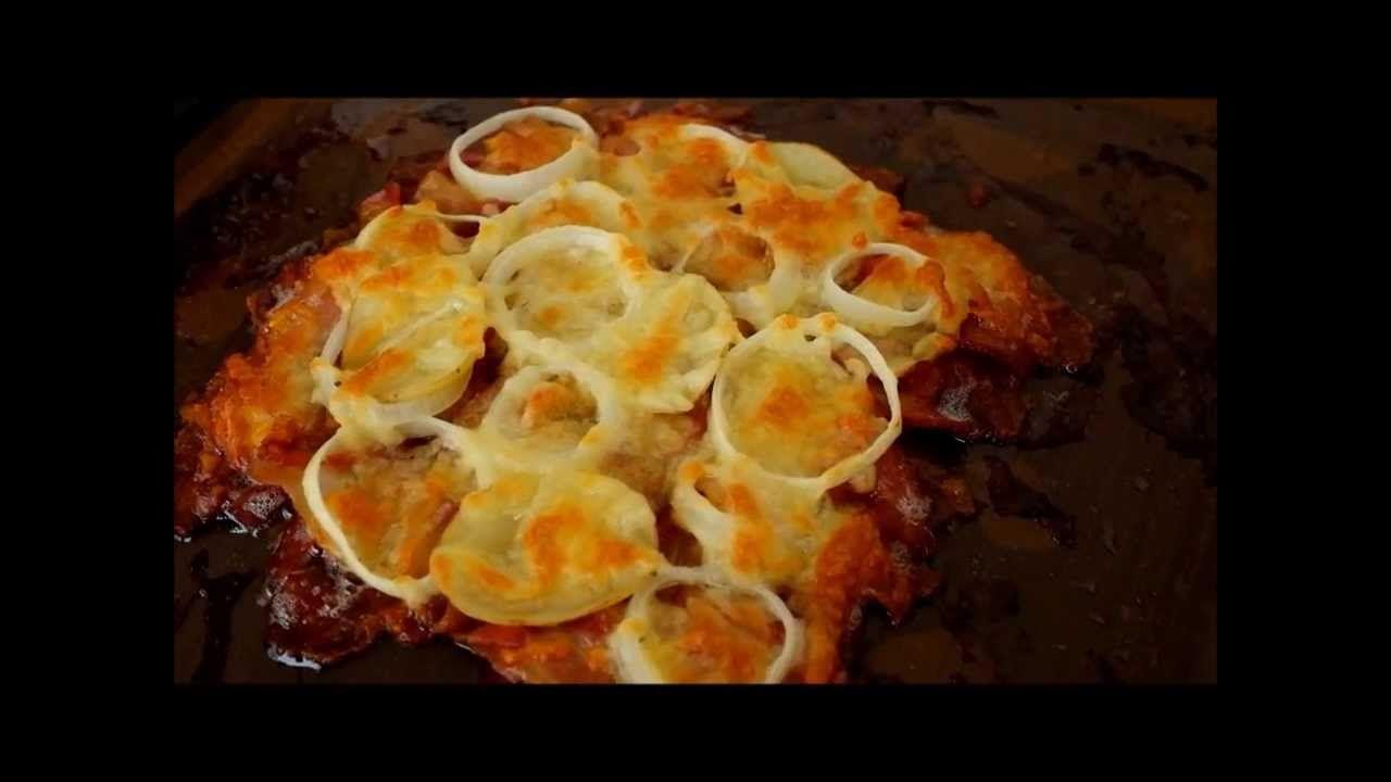พ ชซ าเบคอนกรอบ Easycooking 01 อาหาร ของว าง เบคอน
