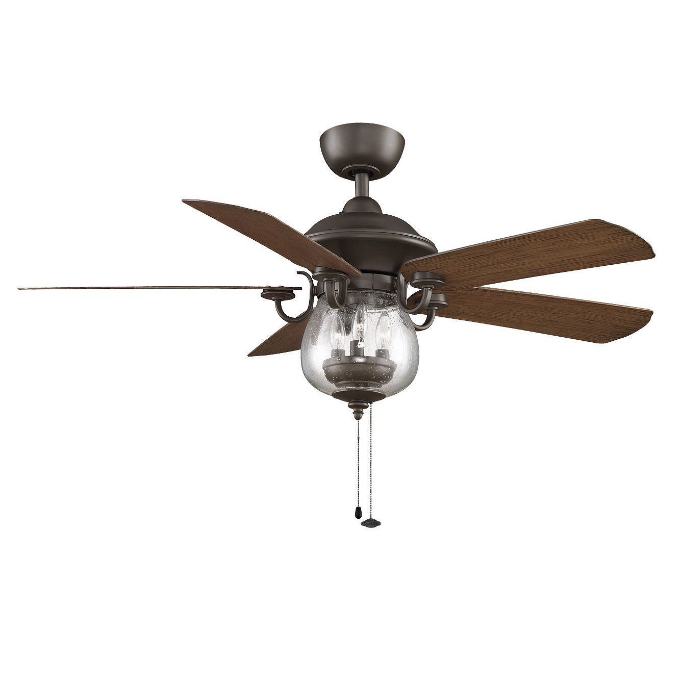 Vintage ceiling fans with lights - Vintage Charm Is Yours When You Add This Stylish And Functional Ceiling Fan With Lights To