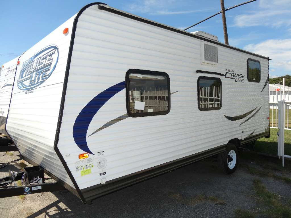 2014 Forest River Salem Cruise Lite 174bh Travel Trailer Only