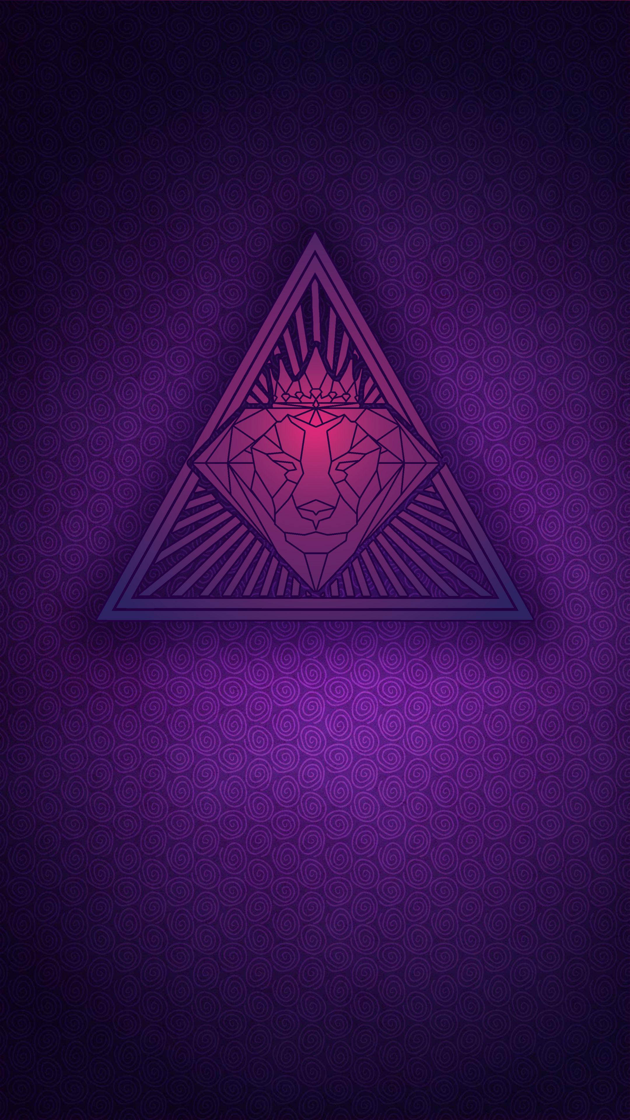 Brokerhood Pyramid Purple Wallpaper For Iphone Purple Wallpaper Iphone Iphone Wallpaper Purple Wallpaper