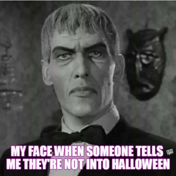 20 Scariest Halloween Quotes Memes Amp Pics Ted Cassidy The Addams Family 1964 Halloween Quotes