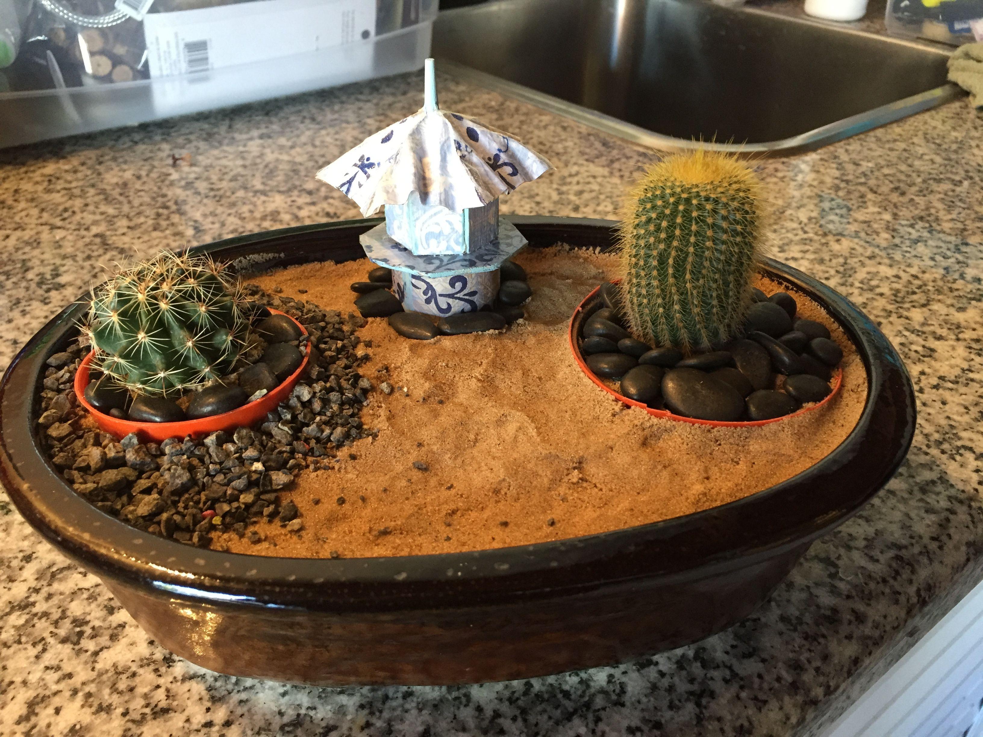 Fantástico Mini Jardines Zen Cresta - Ideas de Decoración de ...