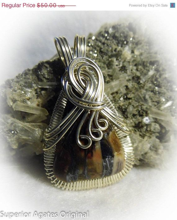 On Sale Rare Minnesota Binghamite Wire Wrapped by superioragates, $45.00
