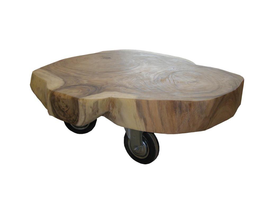 Salontafel boomschijf lifestyle meubelshop voor landelijke en industri le meubels tafels - Exotisch onder wastafel houten meubilair ...