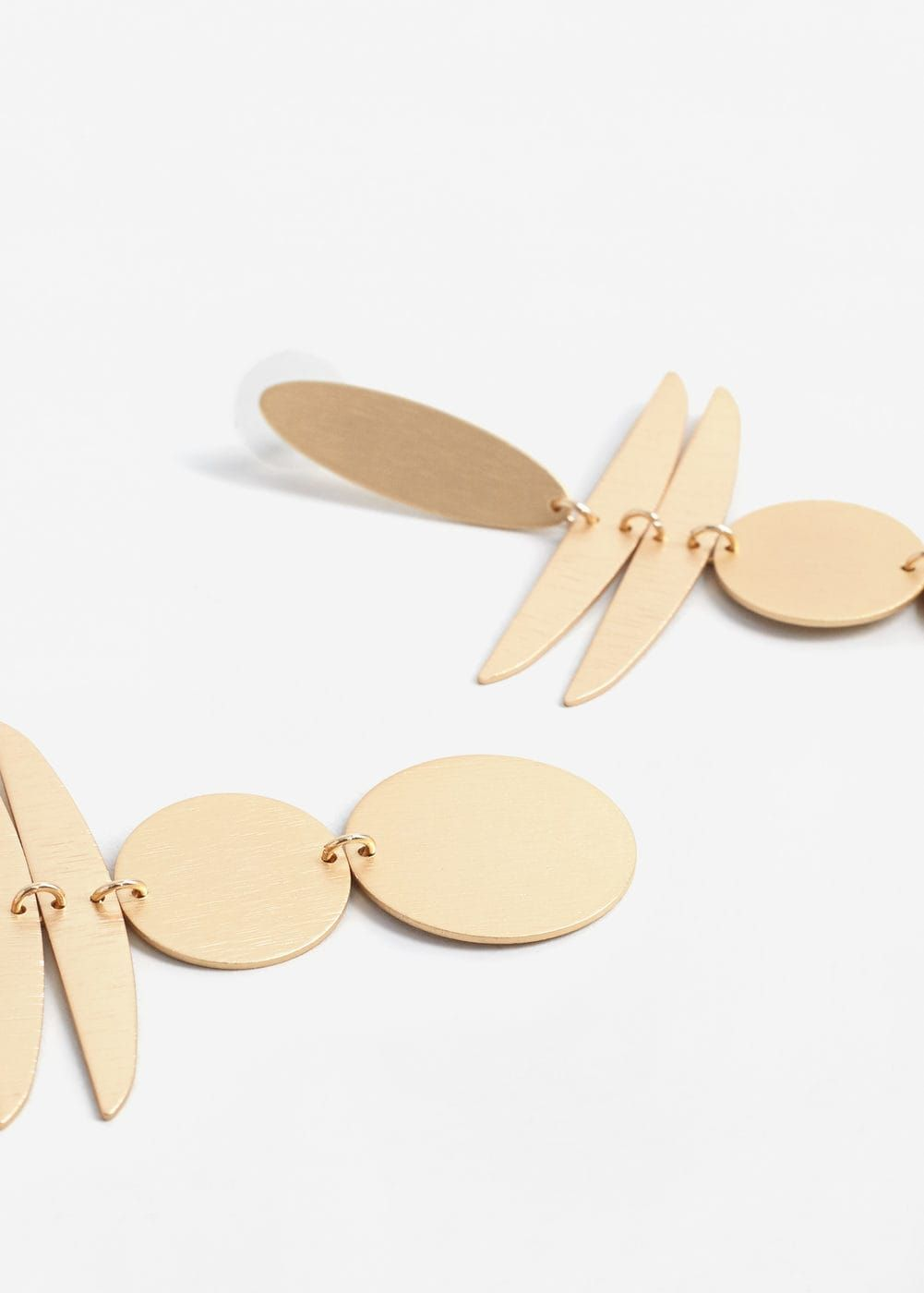 Boucles d'oreilles pièces combinées | MANGO