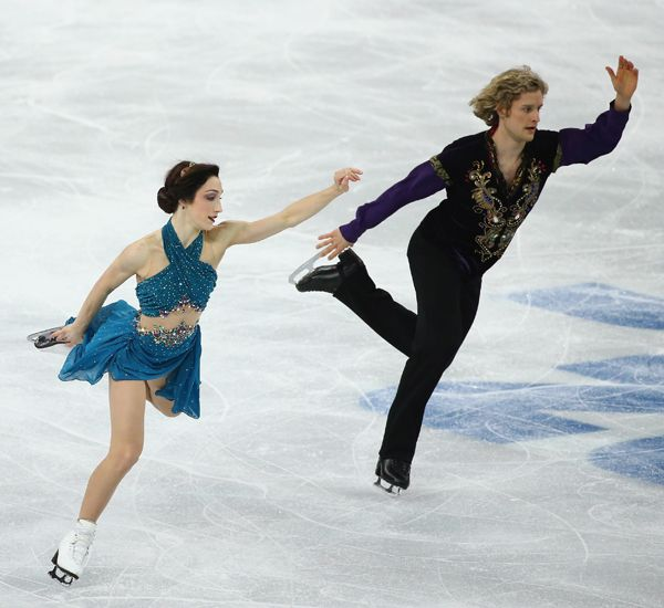 Meryl and charlie ice dancers are they dating gaby