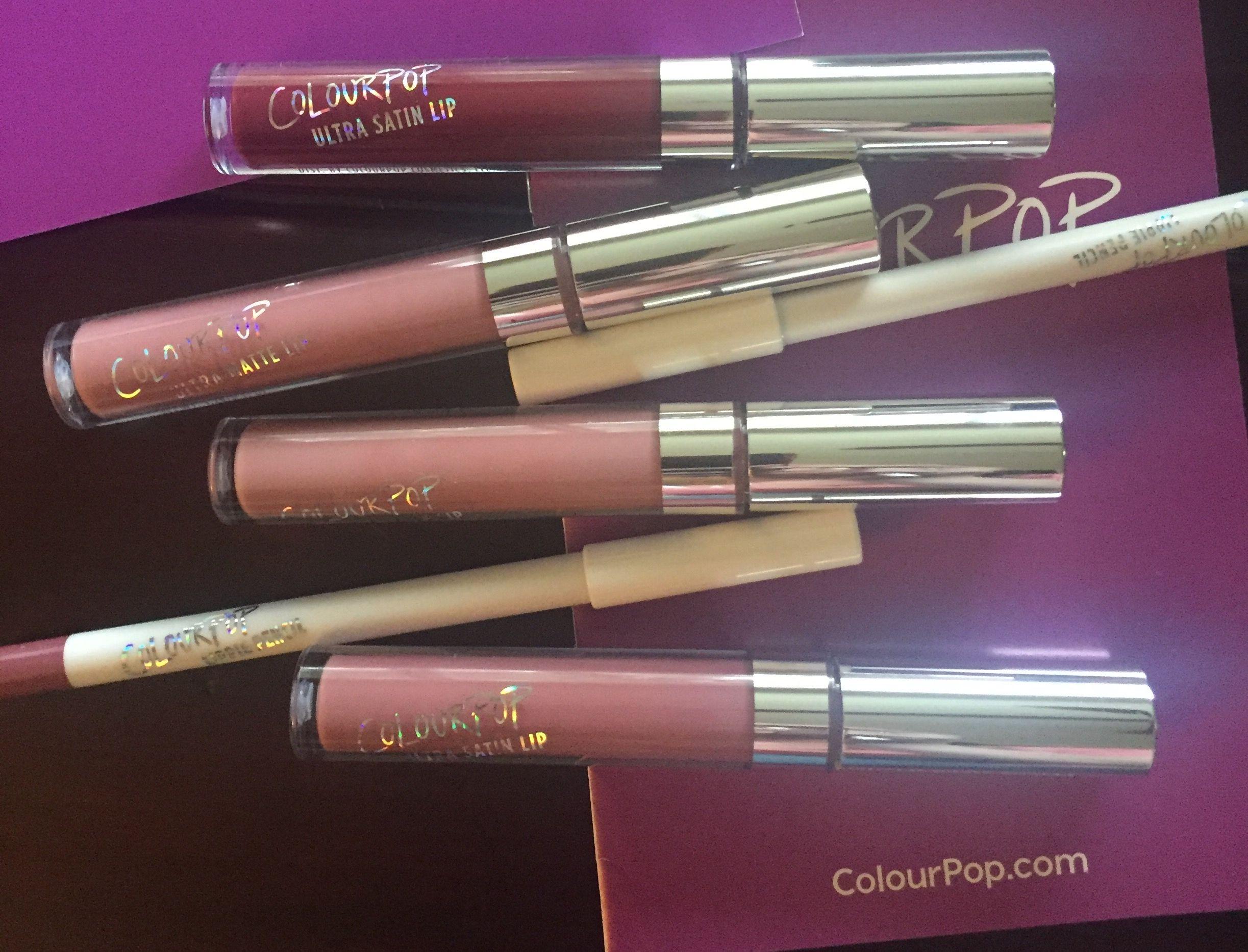 ColourPop new Glossy Lipsticks and Metallics! Glossier