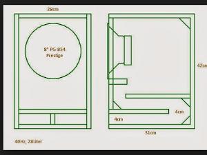 Skema Box Subwoofer 8 Inch Rumahan Elektronik Keren Rangkaian Elektronik Speaker