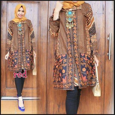 model baju batik terbaru remaja  15a85f1344