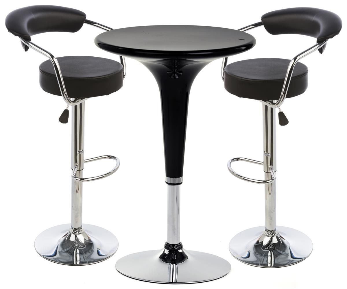 Best Pub Table Set With 1 Round Cocktail Table 2 Adjustable 400 x 300