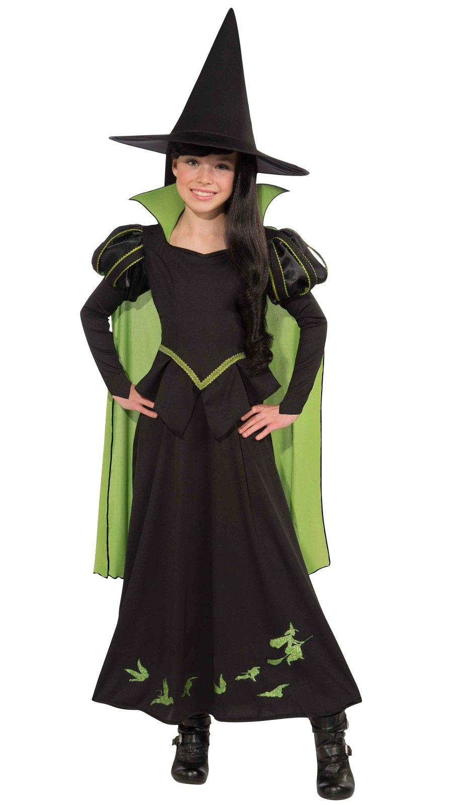 Wizard of Oz Wicked Witch of the West Child Girlu0027s Costume | Book Week costume idea | Halloween costume idea  sc 1 st  Pinterest & The Wizard of Oz Wicked Witch of the West Child Girlu0027s Costume ...
