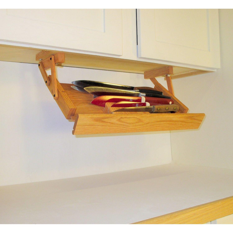 R Murphy S Ultimate Kitchen Storage Under Cabinet Knife Rack