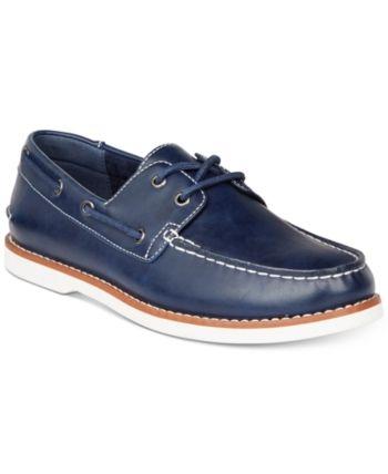 86c7216d6c06 Unlisted by Kenneth Cole Men Santon Boat Shoes Men Shoes in 2019 ...