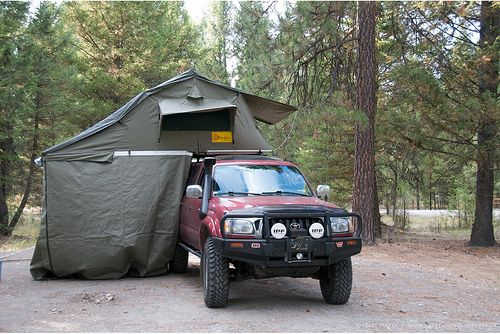 Rtt Front Roof Top Tent Toyota Tacoma Roof Top Tent Roof Architecture Diy Roofing