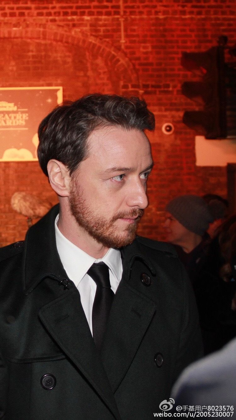 James McAvoy at The London Evening Standard Theatre Awards at The