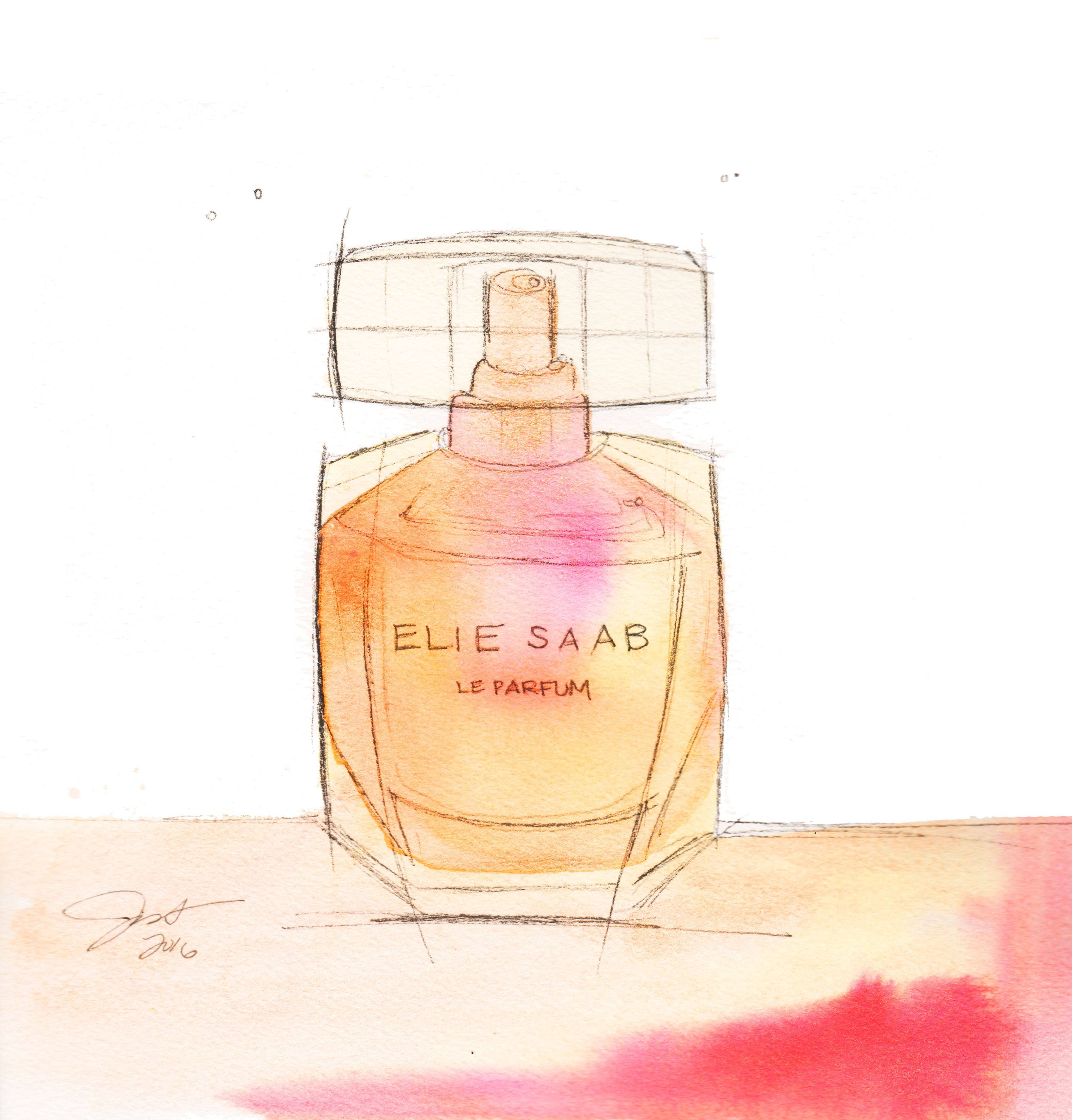 Perfume Noted When Water Colour Illustration Meets The Scent
