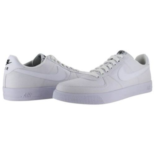 NEW GENUINE Nike Mens Size 13 AIR FORCE 1 AC White Canvas