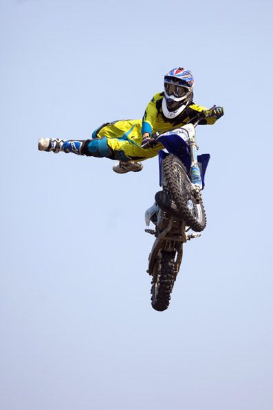 I Want To Learn How To Do Motocross Doing Tricks In The Mud And