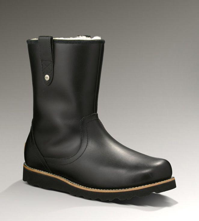 6bc02c7d8ea UGG Stoneman 3247 Black Boots | Ugg Stoneman Boots- bootsbailybutton ...
